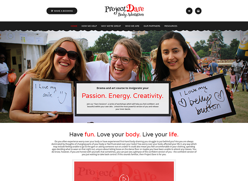 Project Dare<div style='clear:both;width:100%;height:0px;'></div><span class='cat'>Web Development</span>